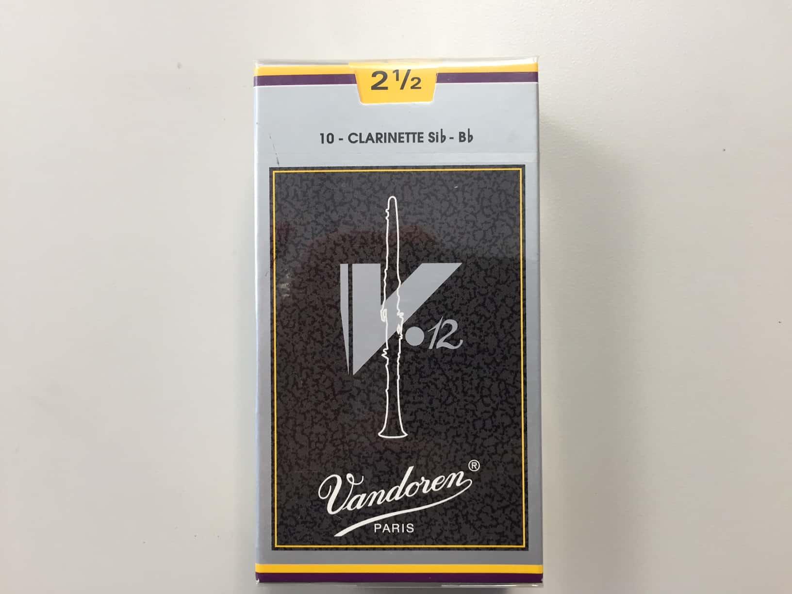 V12 clarinet reeds