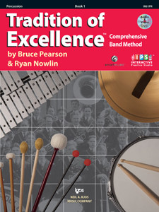 tradition of excellence book 1 percussion