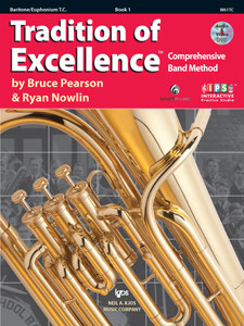 tradition of excellence book 1 baritone tc