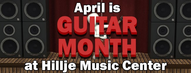 Guitar Month at Hillje Music