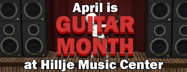 Guitar Month at Hillje Music