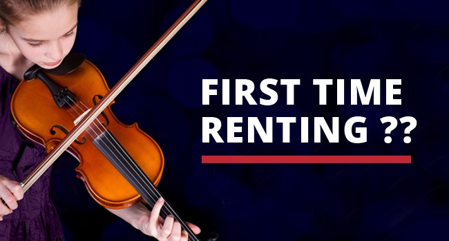 Rent your first instrument through Hillje Music Centers