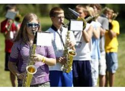 marching band alto sax